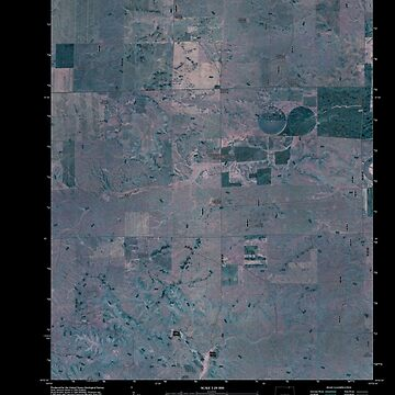 USGS TOPO Map Colorado CO Dolan Spring 20110118 TM Inverted by wetdryvac