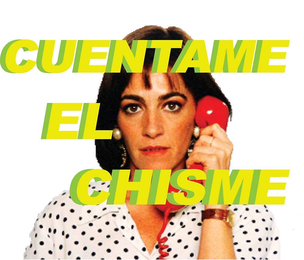 Cuentame El Chisme - Green by aquickbrownfox
