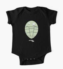 Trilobite Boy Fan Short Sleeve Baby One-Piece