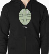 Trilobite Boy Fan Zipped Hoodie