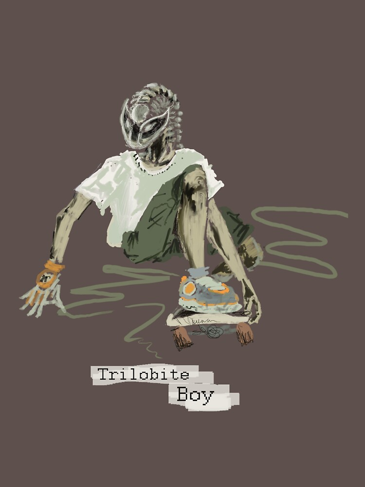Trilobite Boy sk8 by flyingtrilobite
