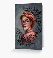 Barb Greeting Card