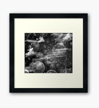 Sunspot Baby Framed Print