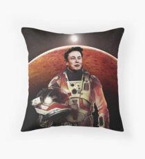 Mars Explorer Throw Pillow