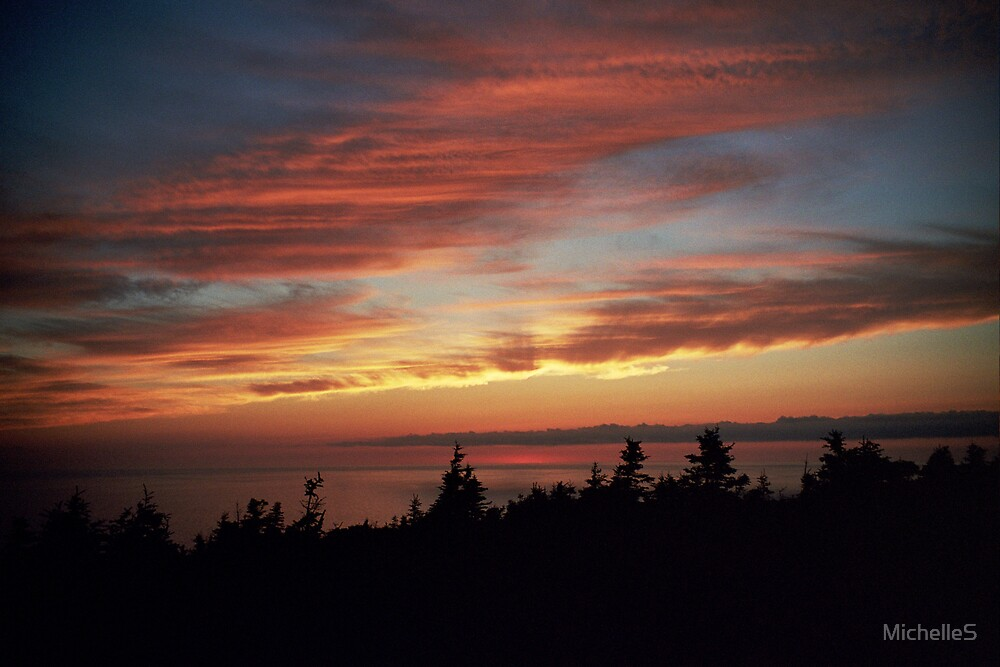Cabot Trail Sunset by MichelleS