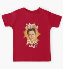 What Does The Michael J Fox Say? Kids Tee