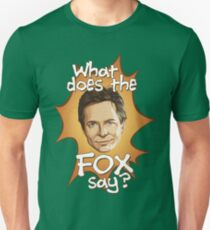What Does The Michael J Fox Say? T-Shirt