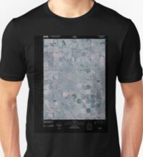 USGS TOPO Map Colorado CO Schramm 20100806 TM Inverted T-Shirt