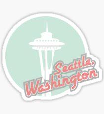 Pegatina Seattle, Washington