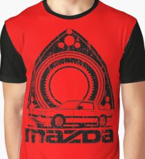 Distressed RX-7 Graphic T-Shirt