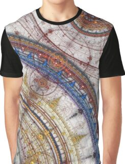 Mandala Print - Star Chart Graphic T-Shirt