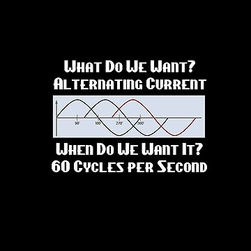 Alternating Current - 60 cycles per second by KFStudios
