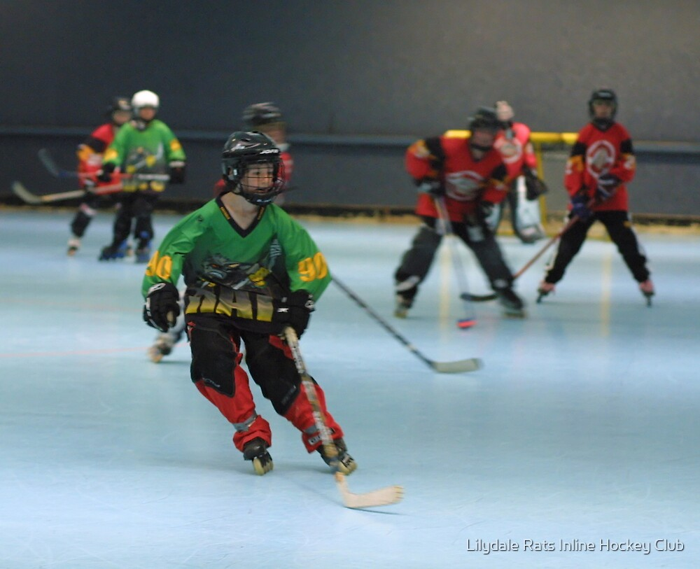 Jesse by Lilydale Rats Inline Hockey Club
