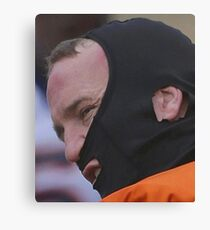 Manning Face Canvas Print