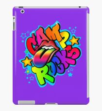 Camp Rocks White  iPad Case/Skin