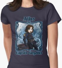 Athos Captain Gorgeous  Women's Fitted T-Shirt