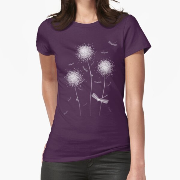 Dandilions Fitted T-Shirt