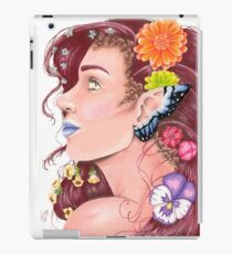 Colored Pencil Fairy Portrait iPad Case/Skin