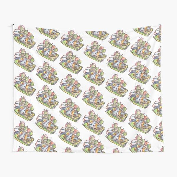 Fish a la Apple Tapestry