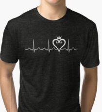 Kingdom Hearts Heartbeat Tri-blend T-Shirt
