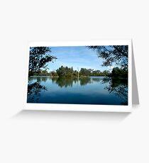Laratinga Wetlands - Adelaide Hills Greeting Card