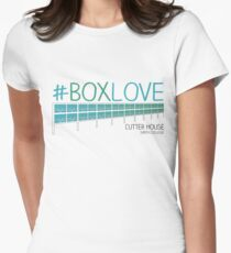 #BoxLove Cutter House Pride Women's Fitted T-Shirt