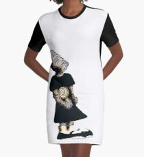 lollypop kid black Graphic T-Shirt Dress