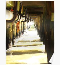Under the pier # 1 Poster