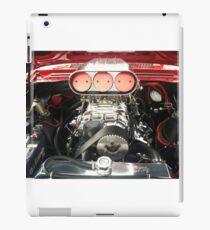 Red Chevy Engine iPad Case/Skin