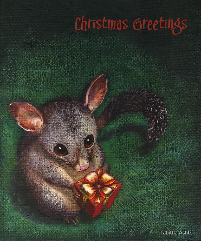 Christmas Possum by Tabitha Ashton