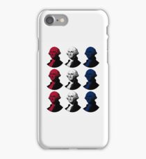 President George Washington - Red, White, and Blue iPhone Case/Skin