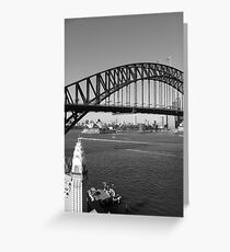 Sunny day in Sydney Greeting Card