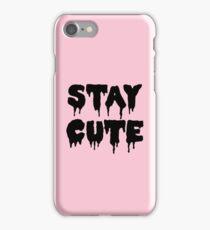 Stay Cute // Pastel Goth  iPhone Case/Skin