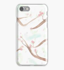 Simplistic Cherry Blossoms iPhone Case/Skin