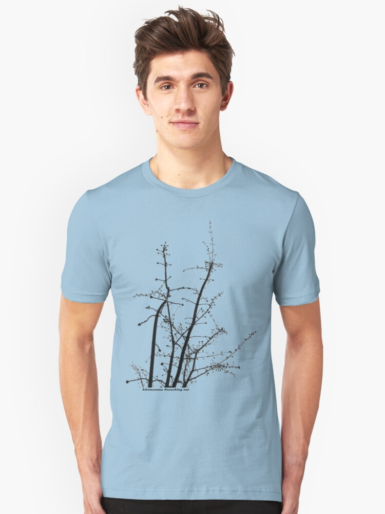 branching out Unisex T-Shirt Front
