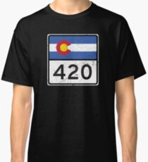 Colorado HIGHway 420 Classic T-Shirt