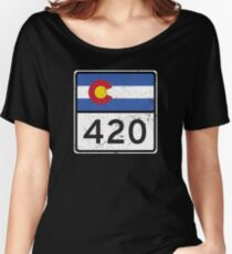 Colorado HIGHway 420 Women's Relaxed Fit T-Shirt