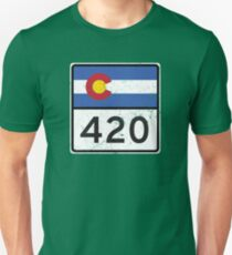 Colorado HIGHway 420 Unisex T-Shirt