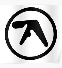 aphex twin logo Poster