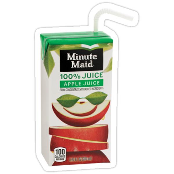 Quot Juice Box Apple Quot Stickers By Sammymc2020 Redbubble