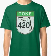 Toke HIGHway 420 Florida  Classic T-Shirt