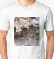 The Magnified Overhang inside a Anciant Boulder , Wow. Unisex T-Shirt