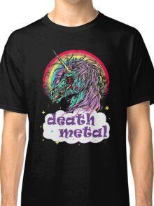 Zombie Unicorn Death Metal Classic T-Shirt