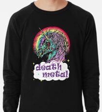 Zombie Einhorn Death Metal Leichter Pullover