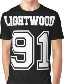 Lightwood 91 white Graphic T-Shirt