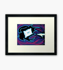 Tired Desires (Abstract) Framed Print