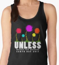 Official unless march for science earth day 2017 Women's Tank Top