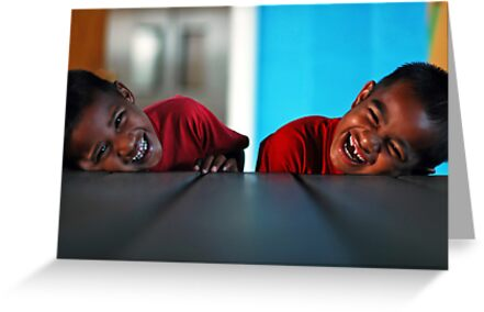 Reflection of smiles by Anthony Asael