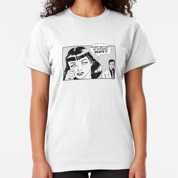 George Strait Womens Dangerous Woman Boyfriend Fit T-Shirt Short-Sleeved T-Shirt