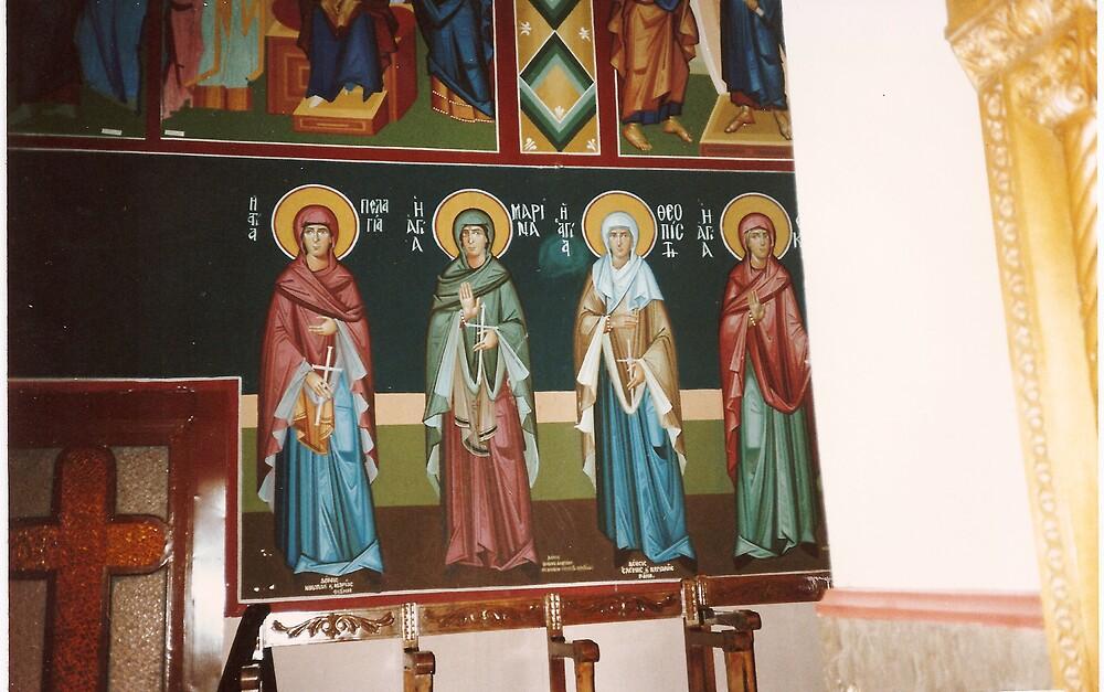 Orthodox Church Greece. by Patrick Ronan